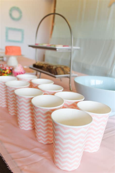 coral pink mint green party decoration chuzai living