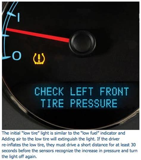 low air pressure light gm tire pressure monitoring systems tpms avi ondemand