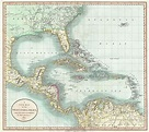 File:1803 Cary Map of Florida, Central America, the ...