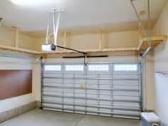 overhead garage storage rack ceiling wire shelves hanging
