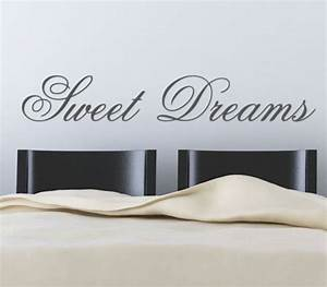 sweet dreamsadhesive wall paper wall letters decoration With adhesive letters for wall