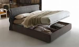 Lit A Coffre : le lit coffre de rangement pratique et d co dans une chambre ~ Teatrodelosmanantiales.com Idées de Décoration