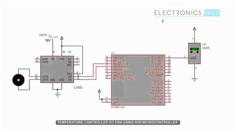 temperature controlled dc fan  microcontroller youtube