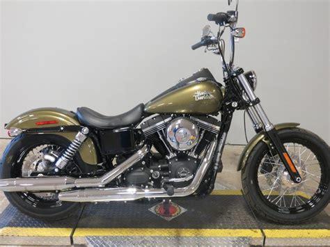 2016 Harley-davidson® Fxdb Dyna® Street Bob® (olive Gold