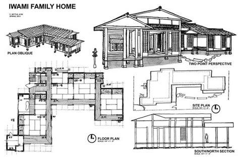 Plan Maison Japonaise Traditionnelle