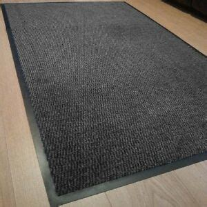 Kitchen Floor Mats For Bad Backs by Heavy Duty Non Slip Rubber Grey Barrier Mats Rugs Back