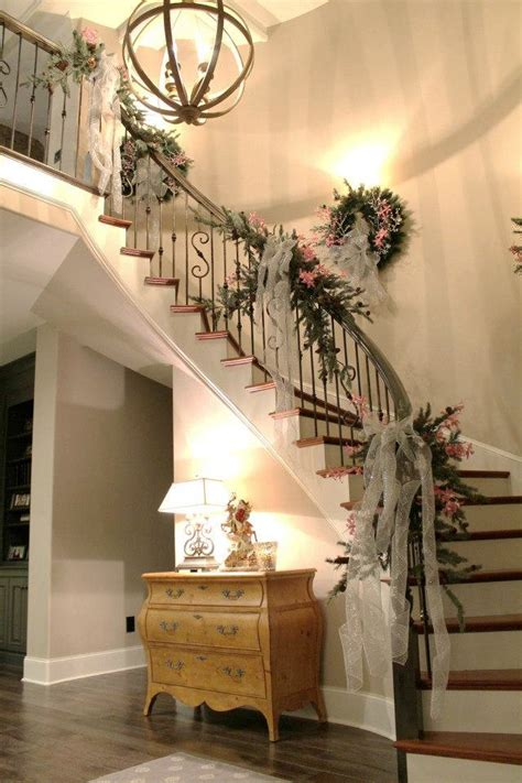 christmas staircase decoration ideas wow decor
