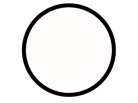 circle clipart black and white circle outline clip 55