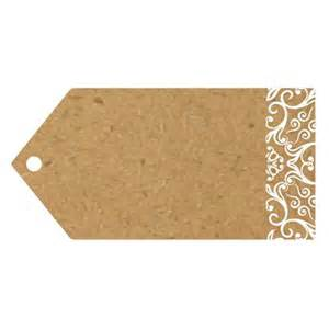 rustic wedding guest books brown luggage tags vintage place cards pack of 10