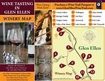 Glen Ellen Wine Tasting Map - Glen Ellen Ca • mappery