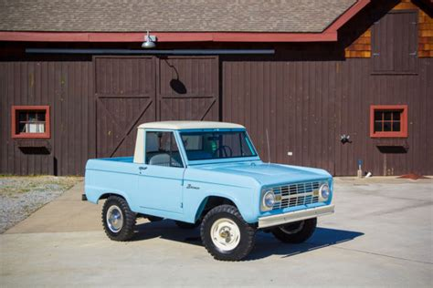 blue bronco car seller of classic cars 1966 ford bronco blue white