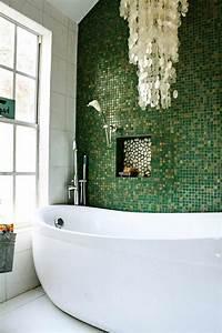 stunning salle de bain faience verte ideas antoniogarcia With faillence salle de bain