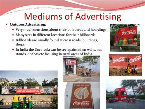 outdoor advertising bureau promotion mix of coca cola