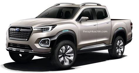 2019 Subaru Pickup Truck Based On Viziv7 Concept 2018