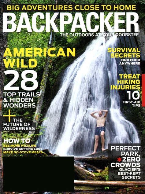 backpacker magazine subscription tomorrow through