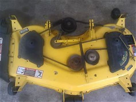 Deere 48c Mower Deck Belt Replacement by Deere Lx279 For Sale On Popscreen