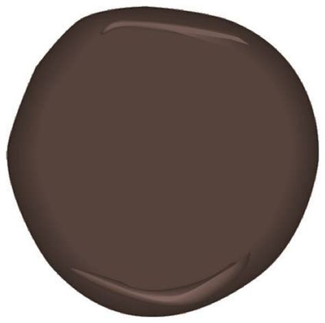 espresso bark csp 390 paint benjamin moore brown with
