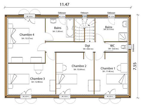 plan maison