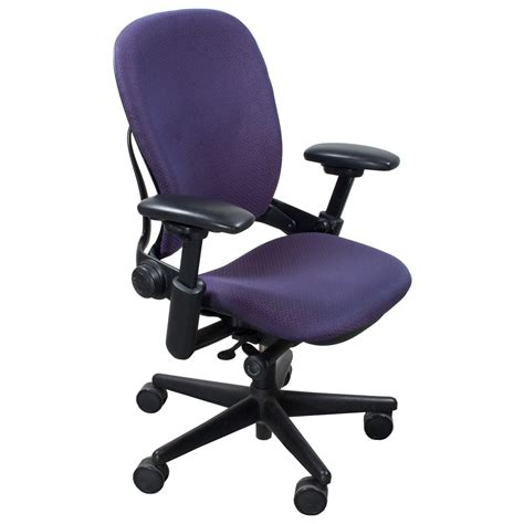 steelcase leap used task chair purple design national