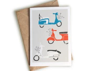 scooter card etsy