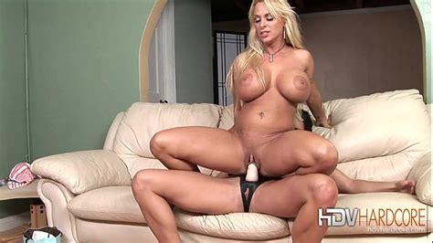 Lesbian Blonde And Brunette Strap On Sex XNXX COM