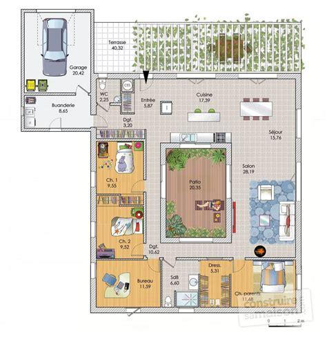cour de cuisine gratuit vaste maison de plain pied dé du plan de vaste
