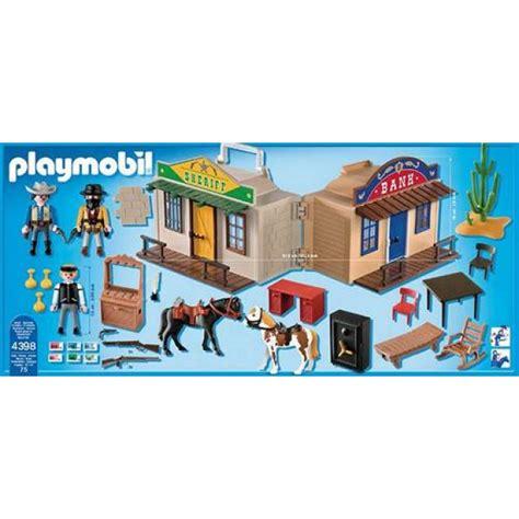 playmobil sheriff huis goedkoop playmobil meeneem westernstad 4398 kopen bij