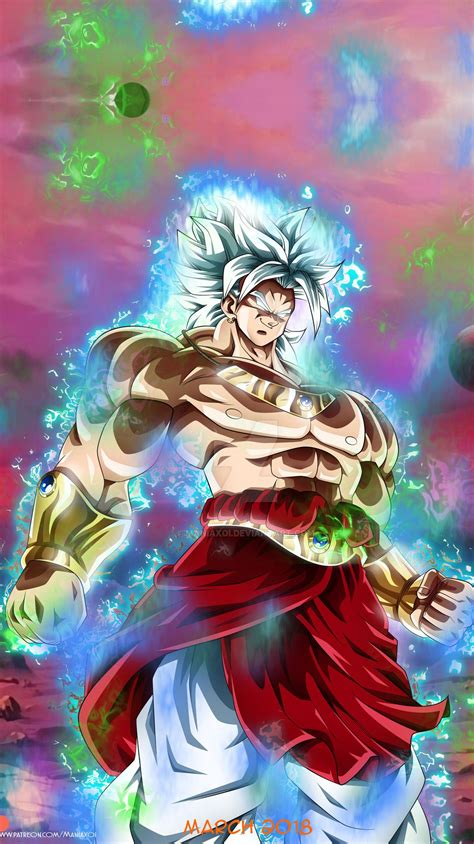 dragon ball broly ultra instinct