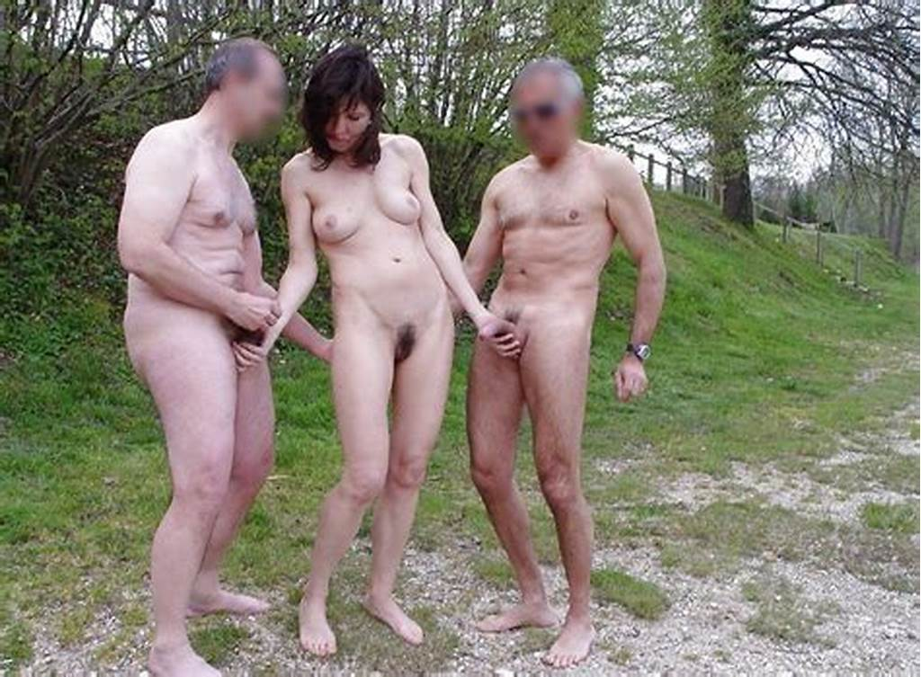 #Wife #Dogging #With #Husband #Friends #Outdoor