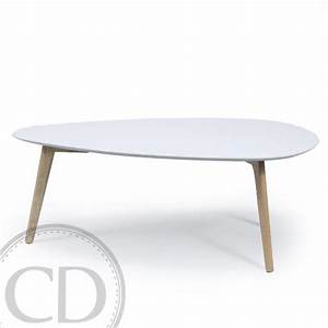 Table Basse Scandinave Blanche : table basse scandinave blanche large bajo sur cdc design ~ Teatrodelosmanantiales.com Idées de Décoration