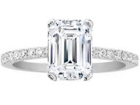 engagement rings emerald cut emerald engagement rings from mdc diamonds nyc