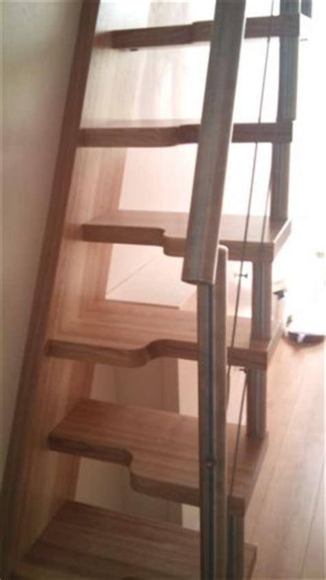 escalier a pas decale max min