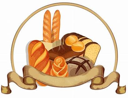 Bakery Bread Round Loaf Illustrations Clip Background