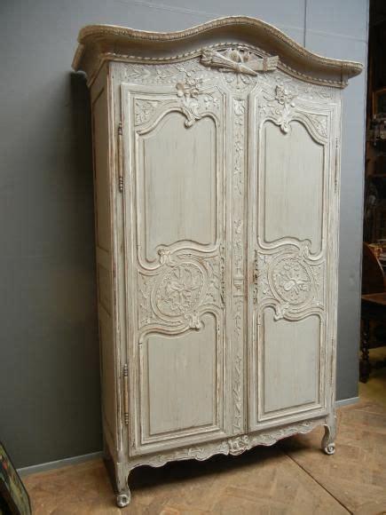 892 armoire normande peinte auction treasures