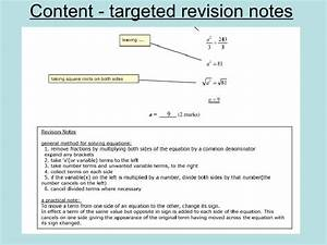 Exam Paper Revision Booklet 1a