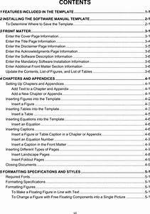 download software user manual template for free page 9 With user manual template for software