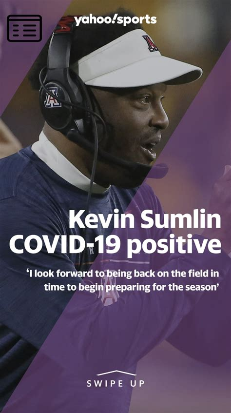 Arizona head coach Kevin Sumlin tests positive for COVID-19