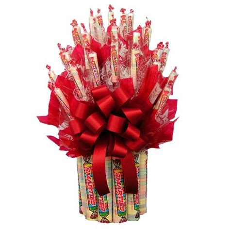 smarties candy bouquet gift baskets  occasion