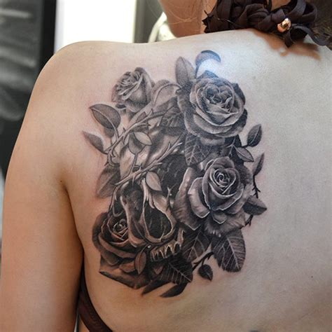 eye catching rose tattoos nenuno creative
