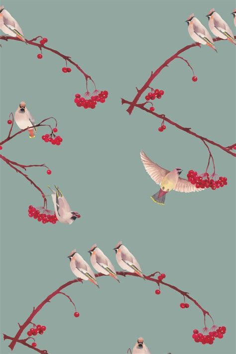 Beautiful Illustrative Wallpapers by Wonderful Bright Fresh New Collection By Petronella