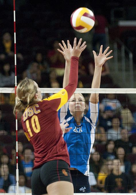 ucla volleyball hopes  earn  pac  victory