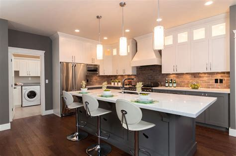 kitchen cabinet styles and two tone kitchen cabinets a concept still in trend