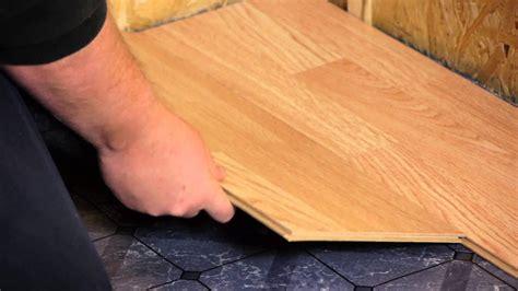 Klick Laminat Entfernen by How To Install Engineered Click Lock Flooring Flooring