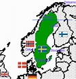 Sweden in World War II - across borders: Where is Sweden ...
