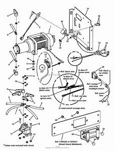 Snapper Uvgt1621bv  7085903  16hp Pwrlnk U0026winch Green Trail Cruiser Uv Series 1 Parts Diagram For