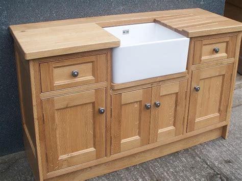 kitchen sink furniture oak belfast sink base free standing kitchen cabinets