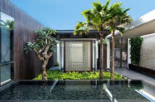 Delightful Tropical House Designs by Modern Resort Villa With Balinese Theme Idesignarch