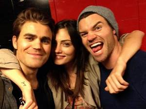 Paul Wesley and Phoebe Tonkin and Daniel Gillies | The ...