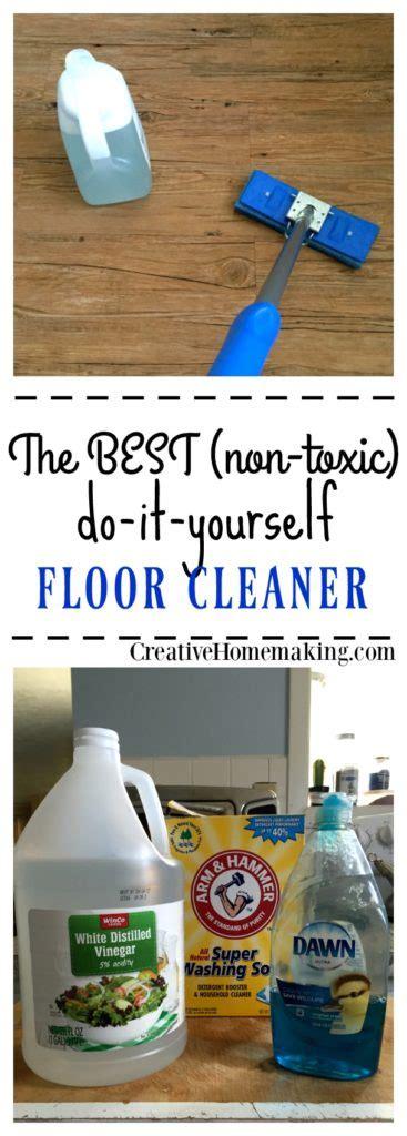 homemade floor cleaner creative homemaking