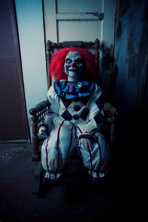 dead silence  prop clown puppet doll ooak halloween